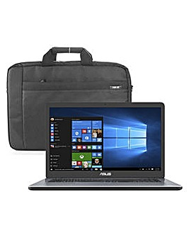ASUS VivoBook 8GB 1TB Laptop & Bag