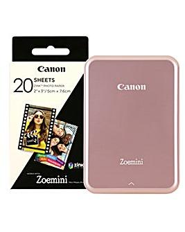 Canon Zoemini Photo Printer inc 30 Shots