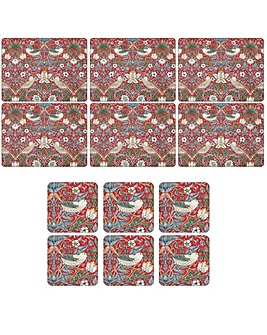 Strawberry Thief Placemats & Coasters