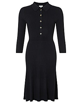 Monsoon Harley Henley Dress