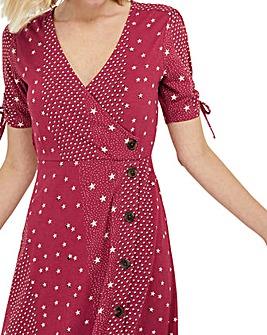 Monsoon Sarai Star Jersey Midi Dress