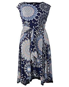 Izabel London Curve Print Dress