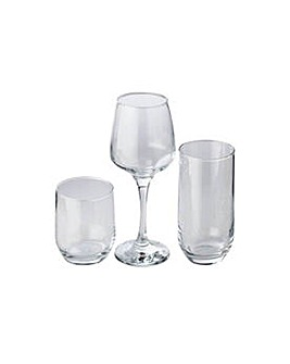 HOME 12 Piece Glassware Set