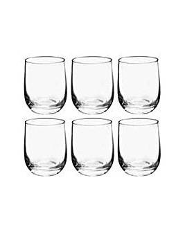 Joy Glassware Set of 6 Tumbler Glasses