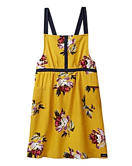 Joules Ochre Cross Over Apron