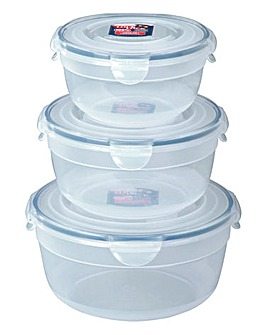 Lock & Lock Bowl Container Set