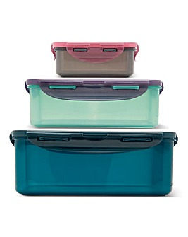 Lock & Lock Eco 3 Piece Container Set