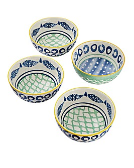Set of 4 Laguna 12.5cm Bowls