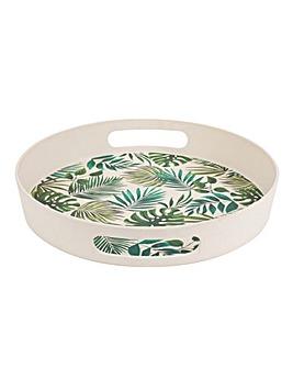 Polynesia Bamboo Round Tray