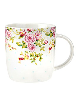 Catherine Lansfield Blue Spot Mug
