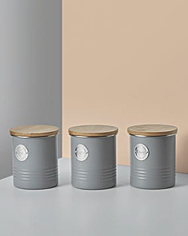 Typhoon Living 3 Piece Canister Set