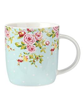 Catherine Lansfield Blue Mug