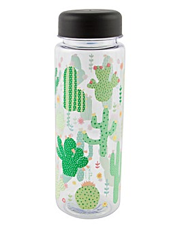 Sass & Belle Cactus Water Bottle