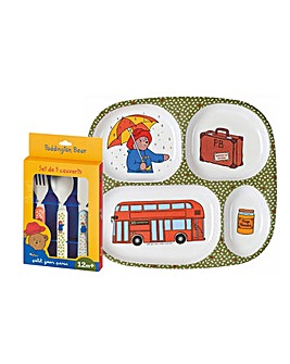 Petit Jour Paddington Bear Dinner Set