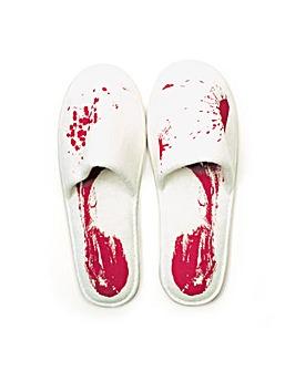 Blood Bath Slippers