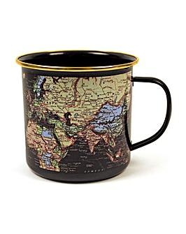 MOTW Blue Enamel mug