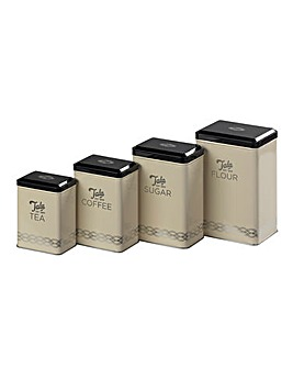 Tala Originals Set of 4 Storage Tins