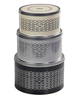 Tala Originals Set of 3 Cake Tins