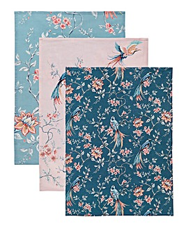 Joe Browns French Blossom Tea Towels