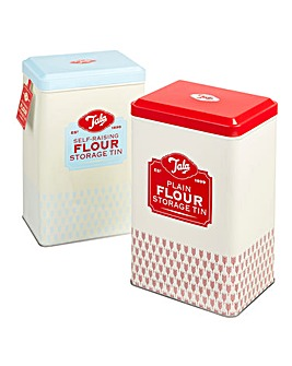 Tala Originals Set of 2 Flour Tins