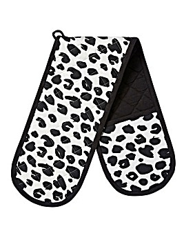 Leopard Print Double Oven Glove