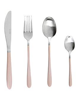 Salter Champagne 16pc Cutlery Set
