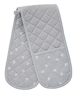 Country Hearts Double Oven Glove