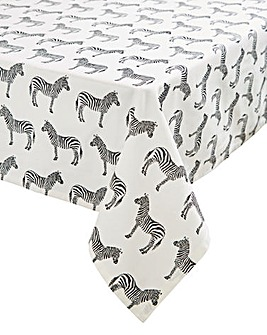 Zebra Print Tablecloth