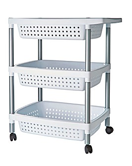 3 Tier Storage Trolley