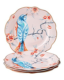 French Blossom Set of 4 Side Plates
