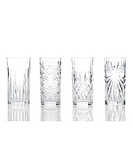 RCR Mixology Hi-Ball Tumblers Set of 4