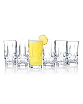 RCR Chic Hi-Ball Tumblers Set of 6