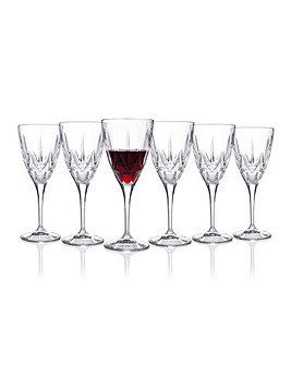 RCR Chic Wine Glasses Set of 6