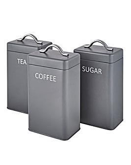 Set of 3 Storage Tins