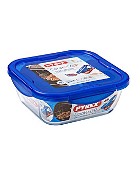 Pyrex Cook&Go Square Glass Roaster