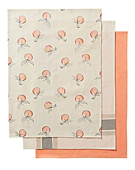 Modern Nature Set of 3 Tea Towels