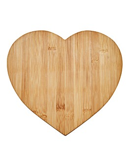 Wooden Heart Shape Chopping Board