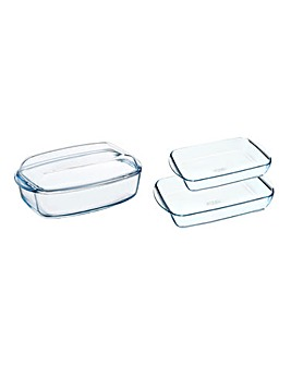 Pyrex Roasting and Casserole Set