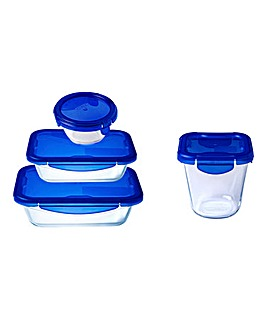 Pyrex Cook&Go Snack Set