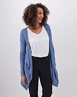 Blue Waterfall Cardigan