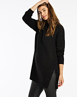 Cosy Button Side Tunic