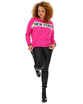 New York Slogan Jumper