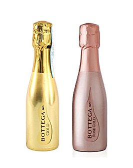 Bottega Rose 20cl & Gold 20cl Mini Pack