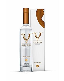 V Gallery Toffee Fudge Vodka 50cl
