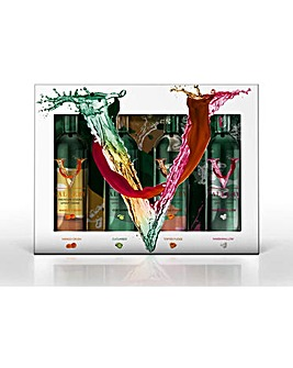 V Gallery Vodka Miniature Giftset 4 x 5cl