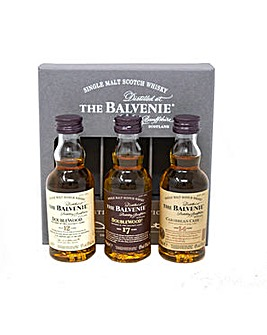 Balvenie Scotch Whisky Tasting Selection 3 x 5cl
