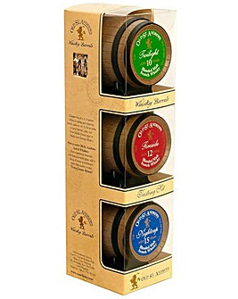 Old St Andrews Whisky Barrels Trio 3x5cl