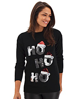 Christmas Ho Ho Ho Jumper