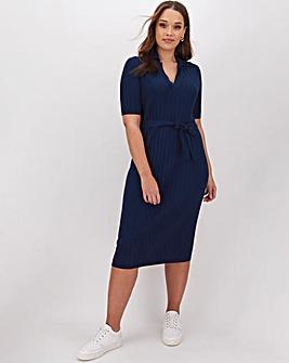 Polo Neck Dress