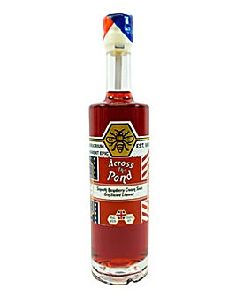 Zymurgorium Across the Pond - Raspberry Cream Soda Gin Liqueur 50cl